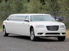 White Chrysler Limo