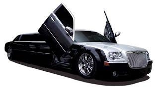 2 tone chrysler limo