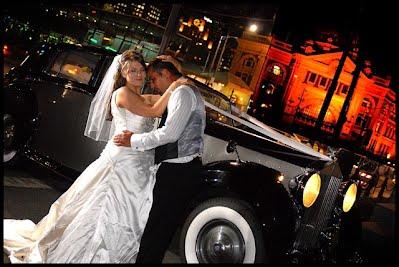 1949 Silver Wraith Rolls Royce Wedding car