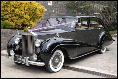 1951 Rolls Royce Wedding Car Hire Melbourne