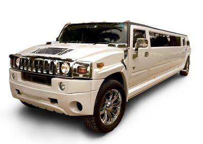 White Hummer 16 Passenger Limo