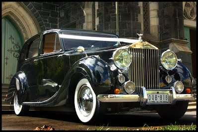 Rolls Royce Silver Wraith 1947 Wedding Car Melbourne