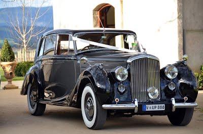 Bentley Silver Wraith Wedding Car
