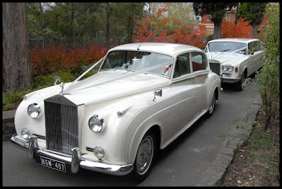 Rolls Royce Silver Cloud LWB White