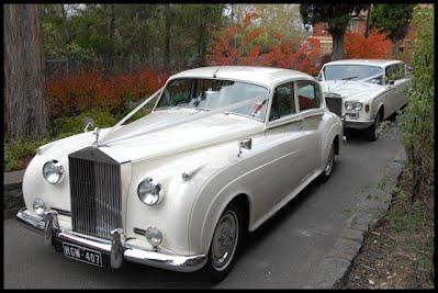 Rolls Royce Silver Cloud LWB White