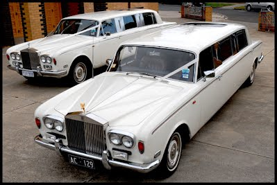Rolls Royce Silver Shadow Stretch Limousine
