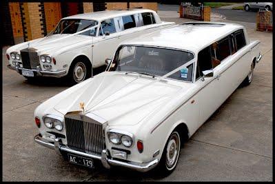 Rolls Royce Silver Shadow Stretch Limousine