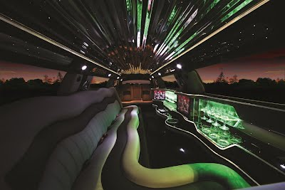 limousine internal picture